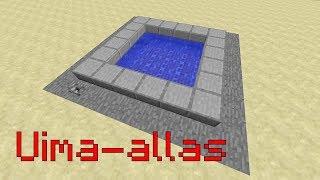 Minecraft Tutoriaali Uima-allas