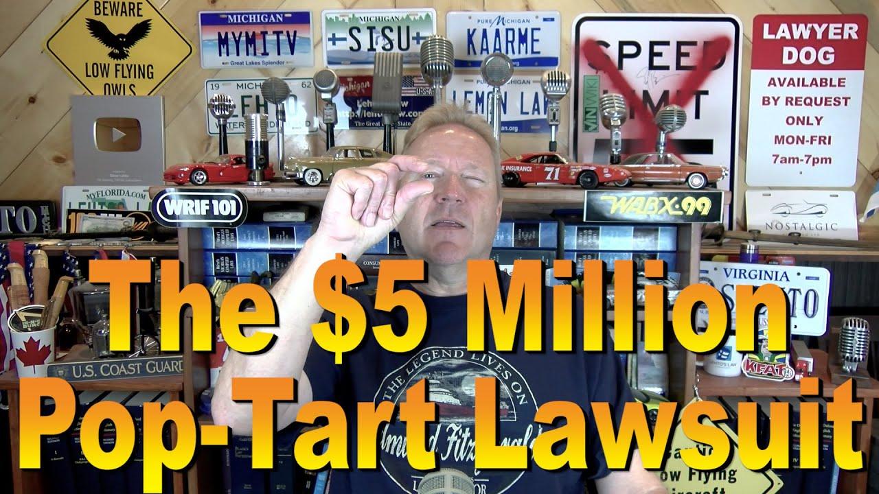 Kellogg's customer files $5 million lawsuit alleging Pop-Tarts don't ...