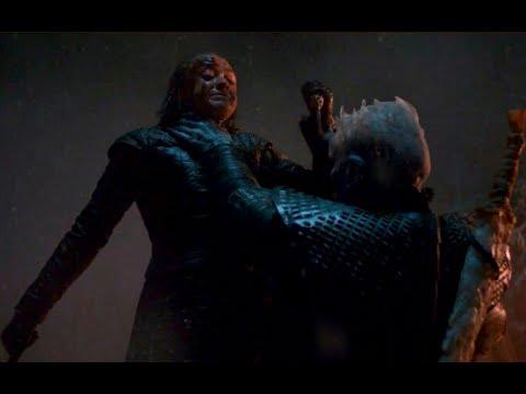 Long Night - Arya and  Night King | Game Of Thrones 8.Sezon 3.Bölüm