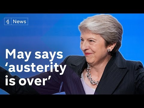 'Dancing Queen' May says austerity is over – with a 'good' Brexit deal