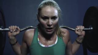 Lindsey Vonn entrenando