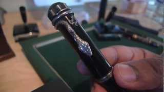 An Overview of Limited and Special Edition Montblanc Fountain Pens Acquired in 2012