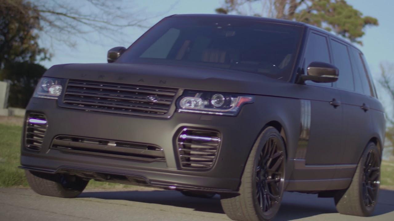 Matte Range Rover >> Matte Black Range Rover With Urban Automotive Upgrades