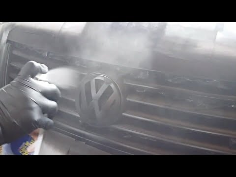 How To Plasti Dip Your Grill | 2004 B5 VW Passat