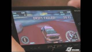 Need for Speed Underground Rivals Sony PSP Gameplay - CES