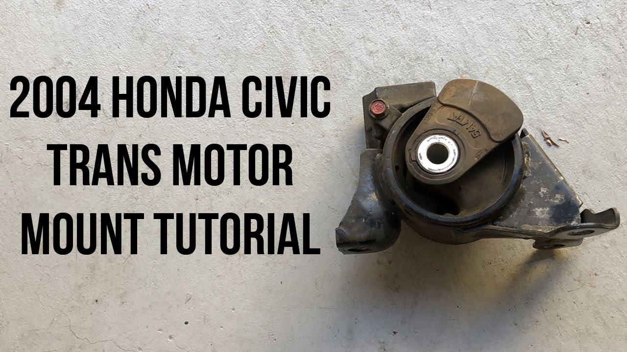 2004 Honda Civic Transmission Engine Mount Replacement