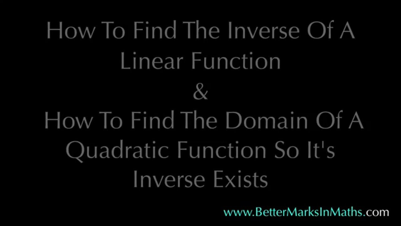 vcaa methods how to know if a function exists