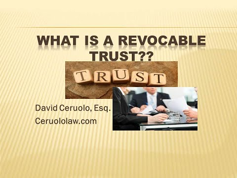 So what is a Real Estate Trust or Nominee Trust?