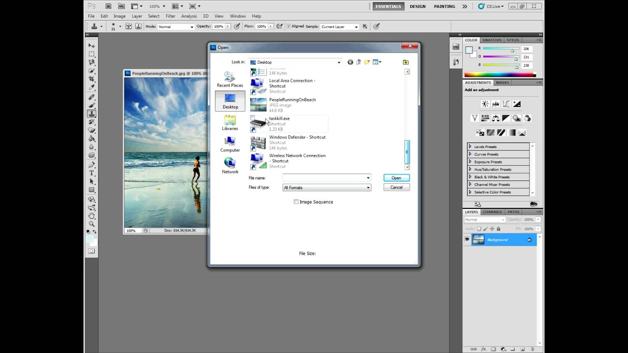Adobe photoshop cs51 tutorial for beginners youtube adobe photoshop cs51 tutorial for beginners baditri Images