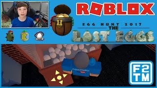 Eggtus / Egg-Bit / The Pearl / Treasure Eggland Found | Roblox Egg Hunt 2017: The Lost Eggs #4