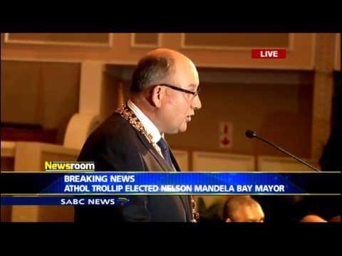 Trollip's speech after elected as Mandela Bay Mayor