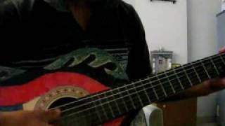 Tune mujhe pehchana nahin on guitar (by AMOL)