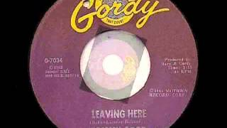 Tommy Good - Leaving Here