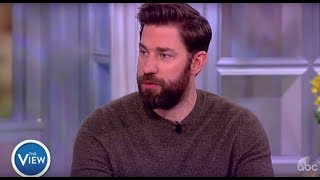 John Krasinski Talks Working With His Wife, Reacts To Tweets About