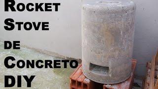 DIY Hornito de cemento (Rocket Stove) - Cosas Prepper