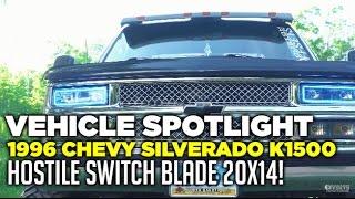 "Spotlight - 1996 Chevy Silverado K1500, 9"" Of Lift, 20x14's And 37's"
