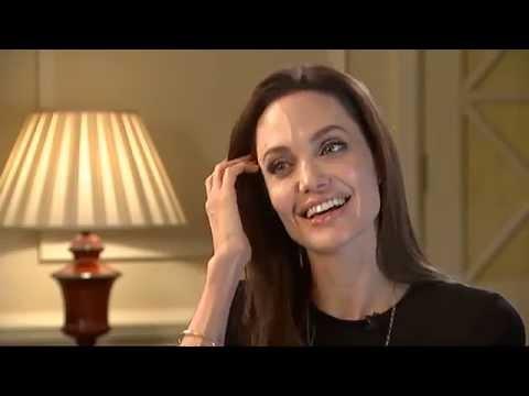 Angelina Jolie on Unbroken,