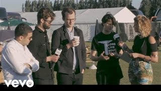 Vampire Weekend - Interview - Live at the Lewes Stopover 2013