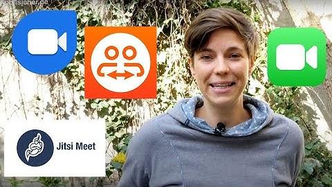 Jitsi Meet, Blizz & Co.: Alternative Video-Chats kurz vorgestellt