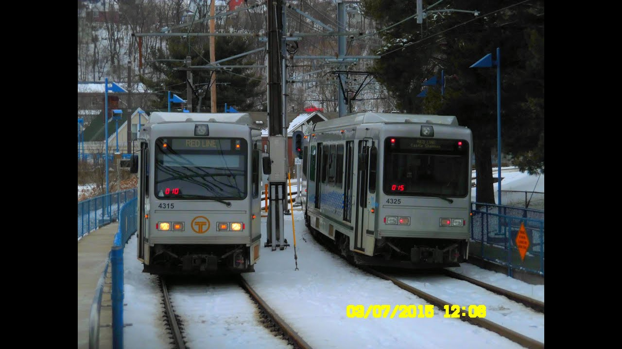 Port authority transit pittsburgh red line light rail to allegheny full ride youtube - Pittsburgh port authority ...