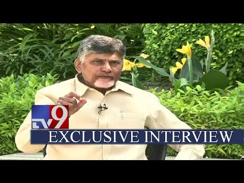 Chandrababu Naidu EXCLUSIVE interview with TV9 - 40 Years In Politics