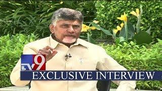 Chandrababu Naidu EXCLUSIVE interview with TV9 ...