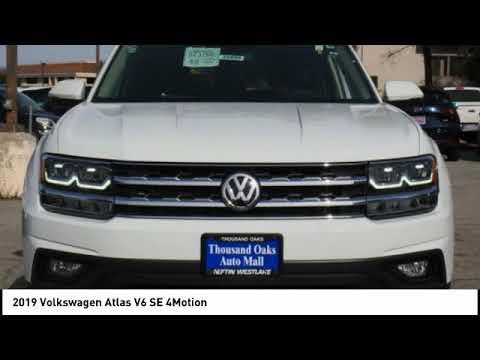 2019 Volkswagen Atlas Thousand Oaks CA VW22856