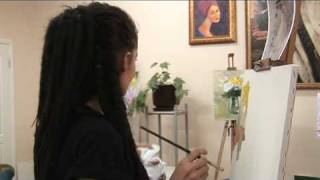 Presentation of the lesson of painting. Презентация урока живописи