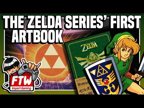 The Legend of Zelda Series' 1st Art Book: Hyrule Graphics (aka Art and Artifacts) - GBG