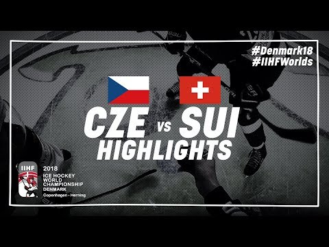 Game Highlights: Czech Republic vs Switzerland May 8 2018 | #IIHFWorlds 2018