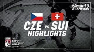 Game Highlights: Czech Republic vs Switzerland May 8 2018 | #IIHFWorlds 2018
