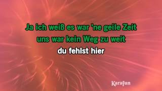 Karaoke Geile Zeit - Juli *
