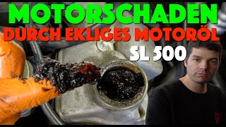 Sprachloser Mercedes Profi ! Mercedes SL500 am Ende !