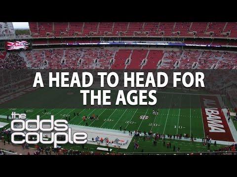Peach Bowl: Washington Huskies vs Alabama Crimson Tide | The Odds Couple & Troy West | NCAAF Picks