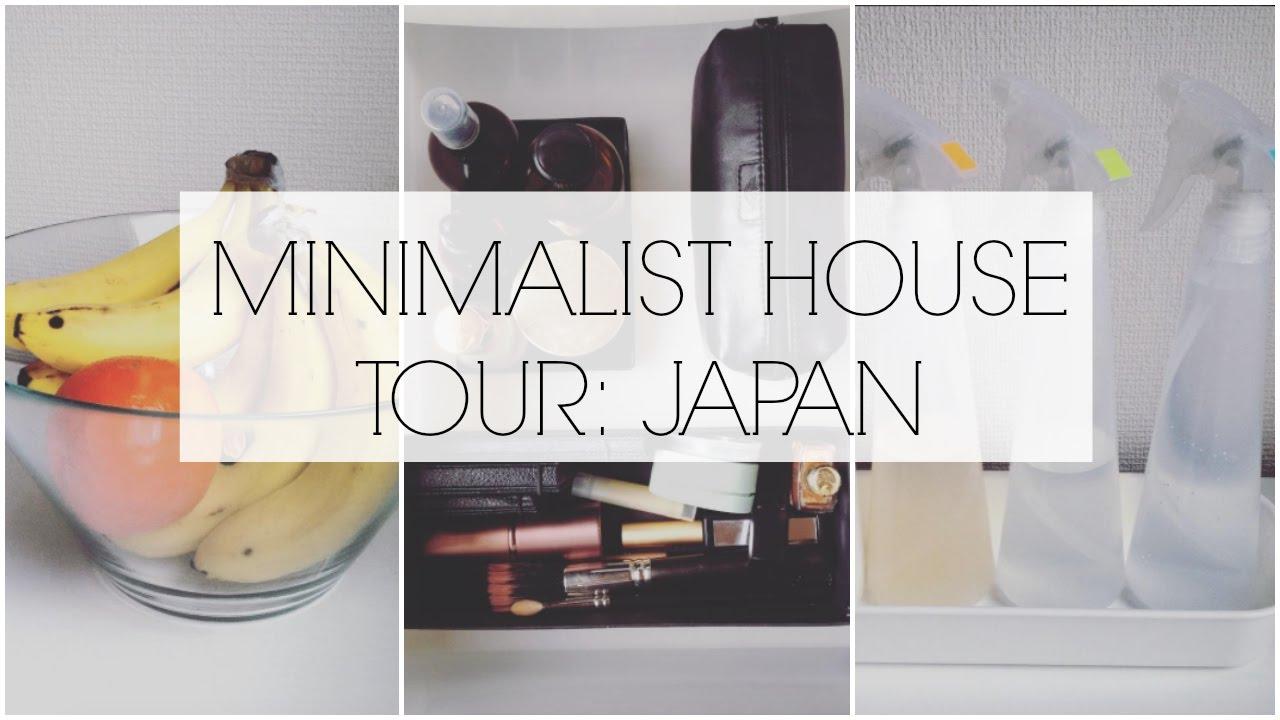 Minimalist house tour 1 japan youtube for Minimalist house tour