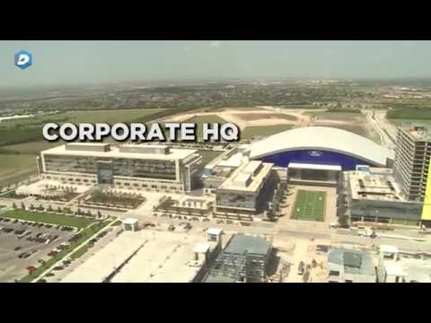 Jerry Jones shows off the Cowboys' new Airbus helicopter