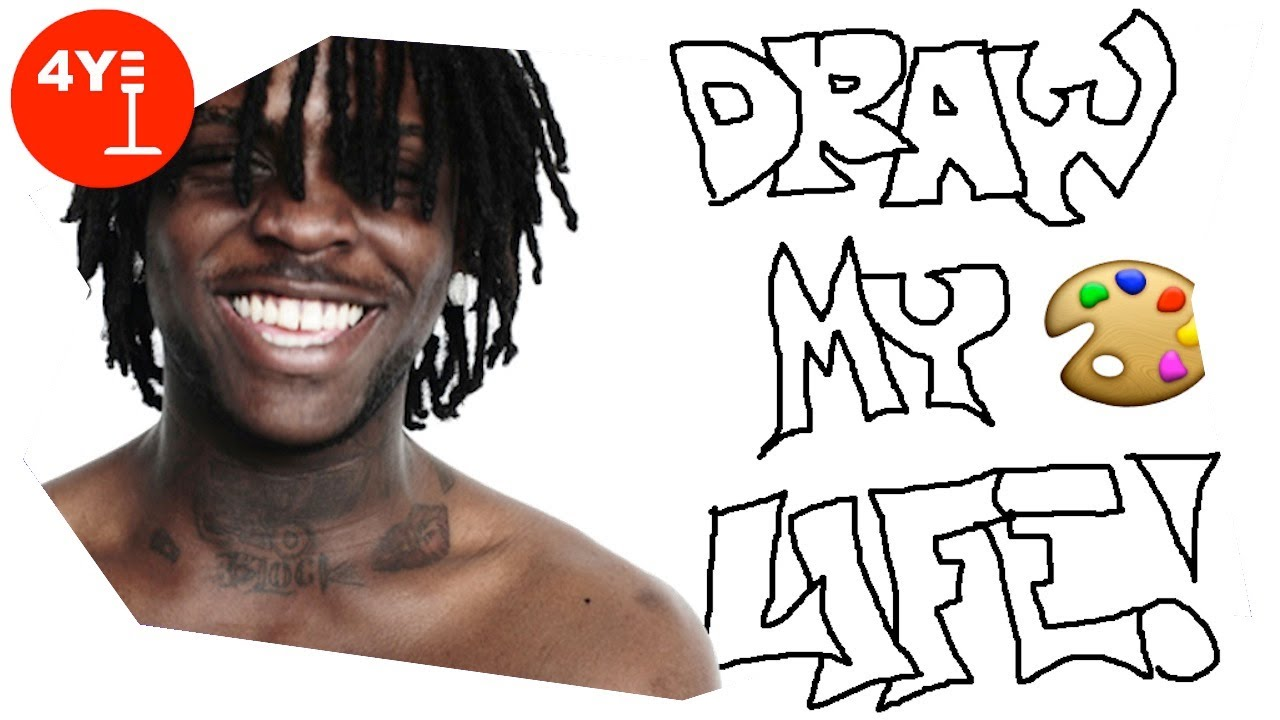 Sketches of chief keef draw my life chief keef parody youtube