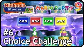 Mario Party 9 - Choice Challenge #6 (3 players)