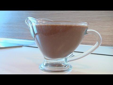Шоколадный соус видео рецепт. Книга о вкусной и здоровой пище