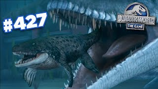 There's always a bigger fish!!! || Jurassic World - The Game - Ep427 HD
