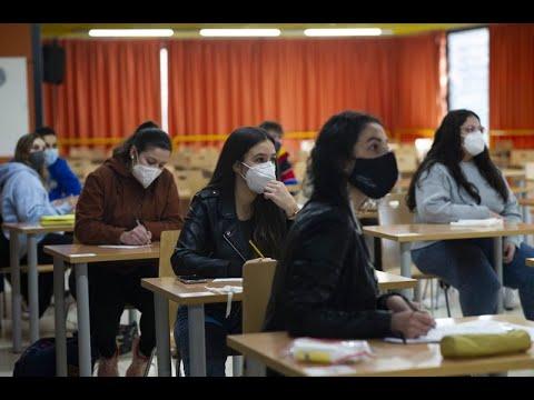 Volven as clases presenciais ao campus de Ourense