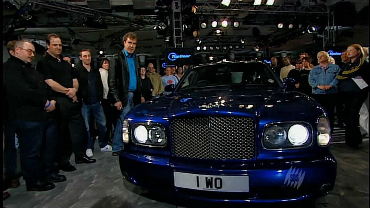 Top Gear - Bentley Arnage T (Обзор на русском)