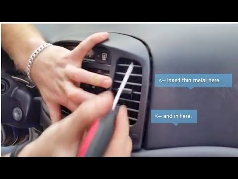 Hyundai Accent 2007 – HOW TO Replace the stereo.