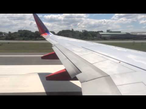 Southwest Airlines Takeoff from Bradley International Airport