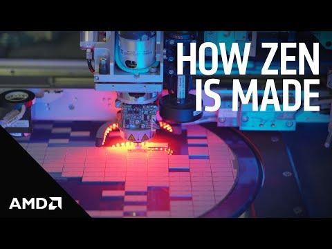 """How the AMD """"Zen"""" Core is Made"""