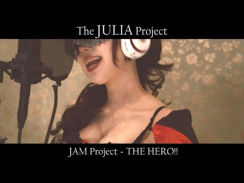 JAM Project - THE HERO!! (Symphonic Metal Girl Cover) ONE PUNCH MAN OP