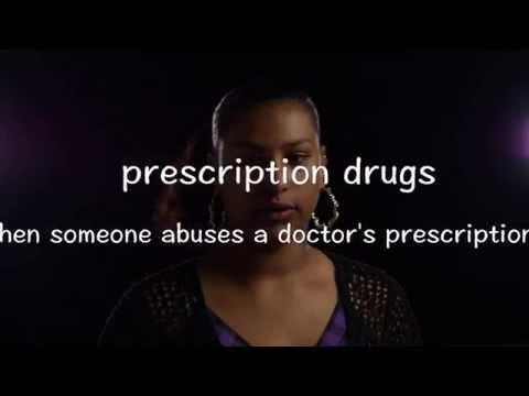 anti prescription drug video