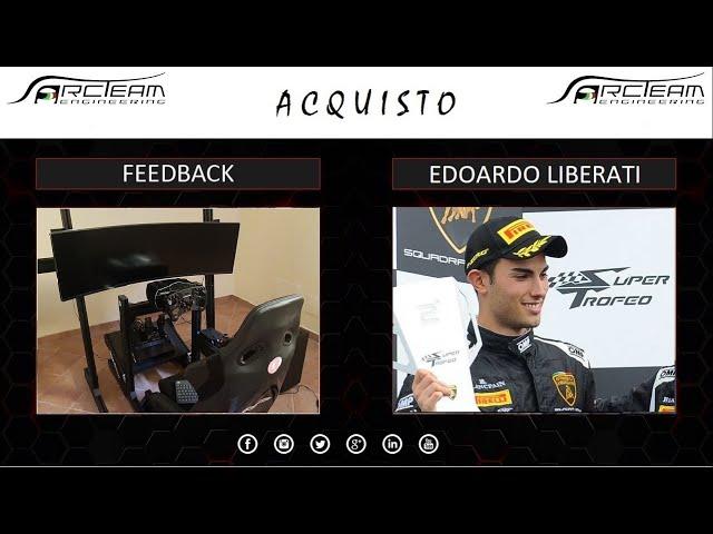 EDOARDO LIBERATI, PRO-DRIVER: IL MIO SIMULATORE SMARTSIM #TR80