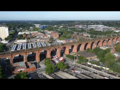 Stockport Aerial Drone Footage