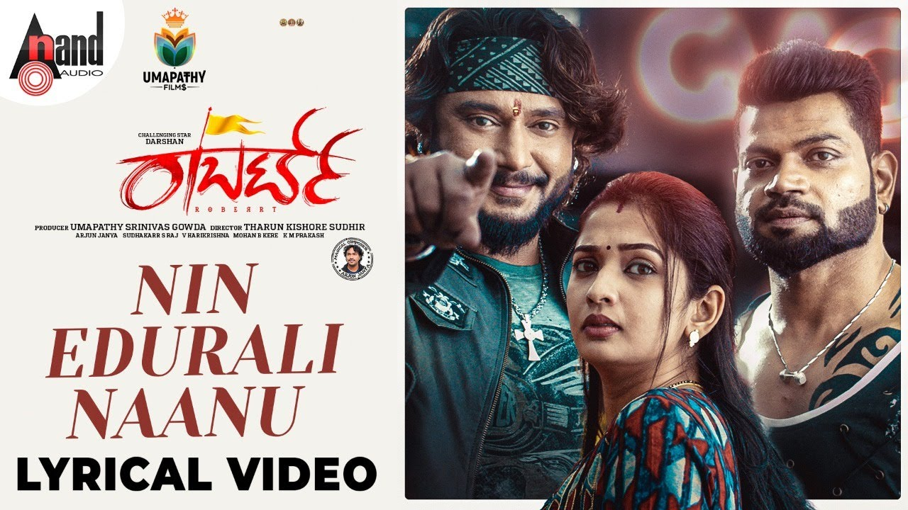 Roberrt   Nin Edurali   Darshan  Vinnod  Arjun Janya  AP Arjun Tharun Kishore Sudhir  Umapathy Films